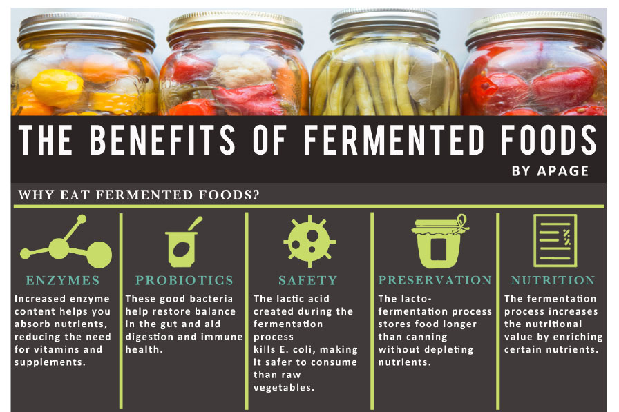 What Are A List Of Fermented Foods