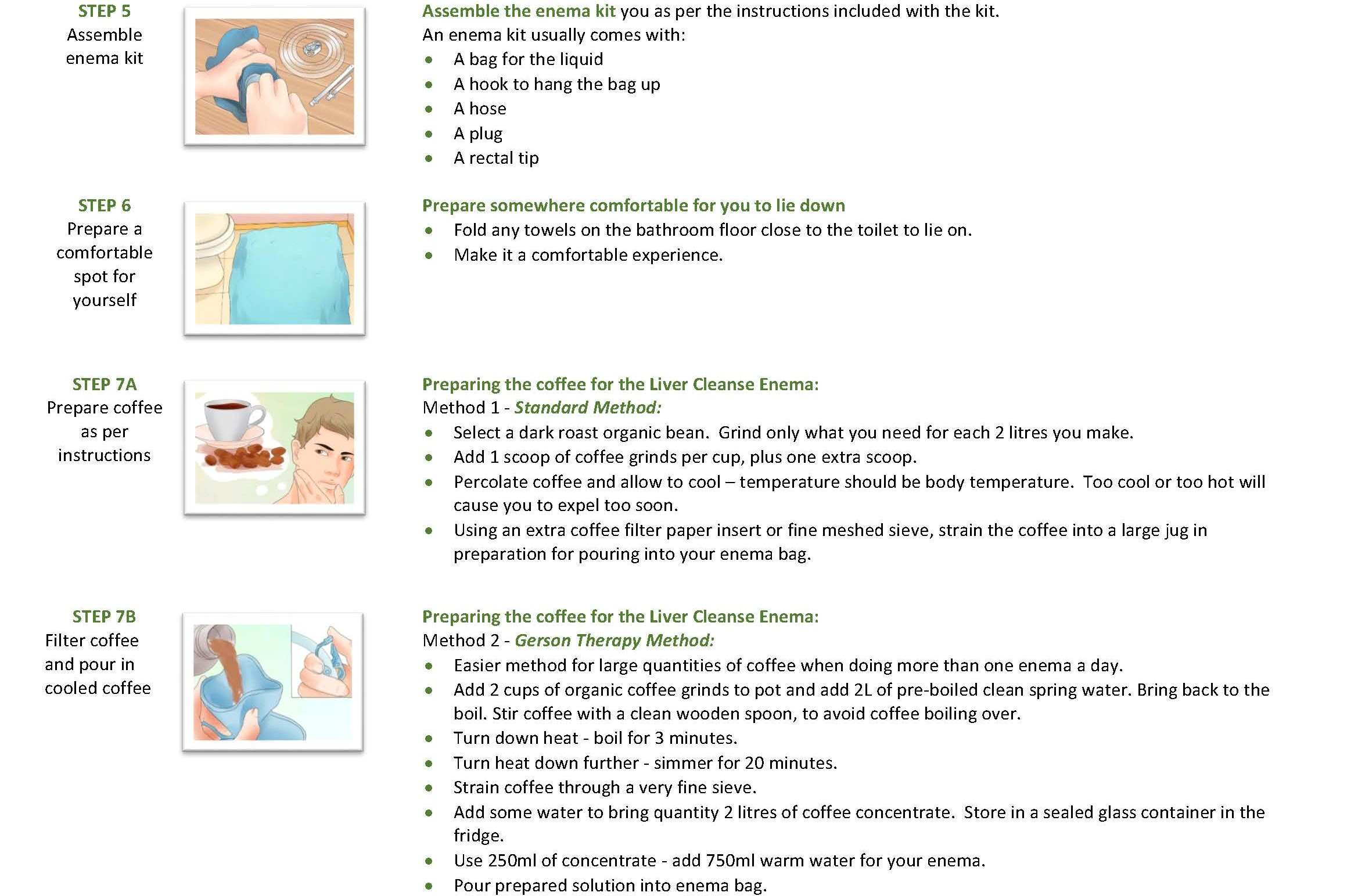 Intestinal tract cleansing: procedure, preparation rules, types of cleansing